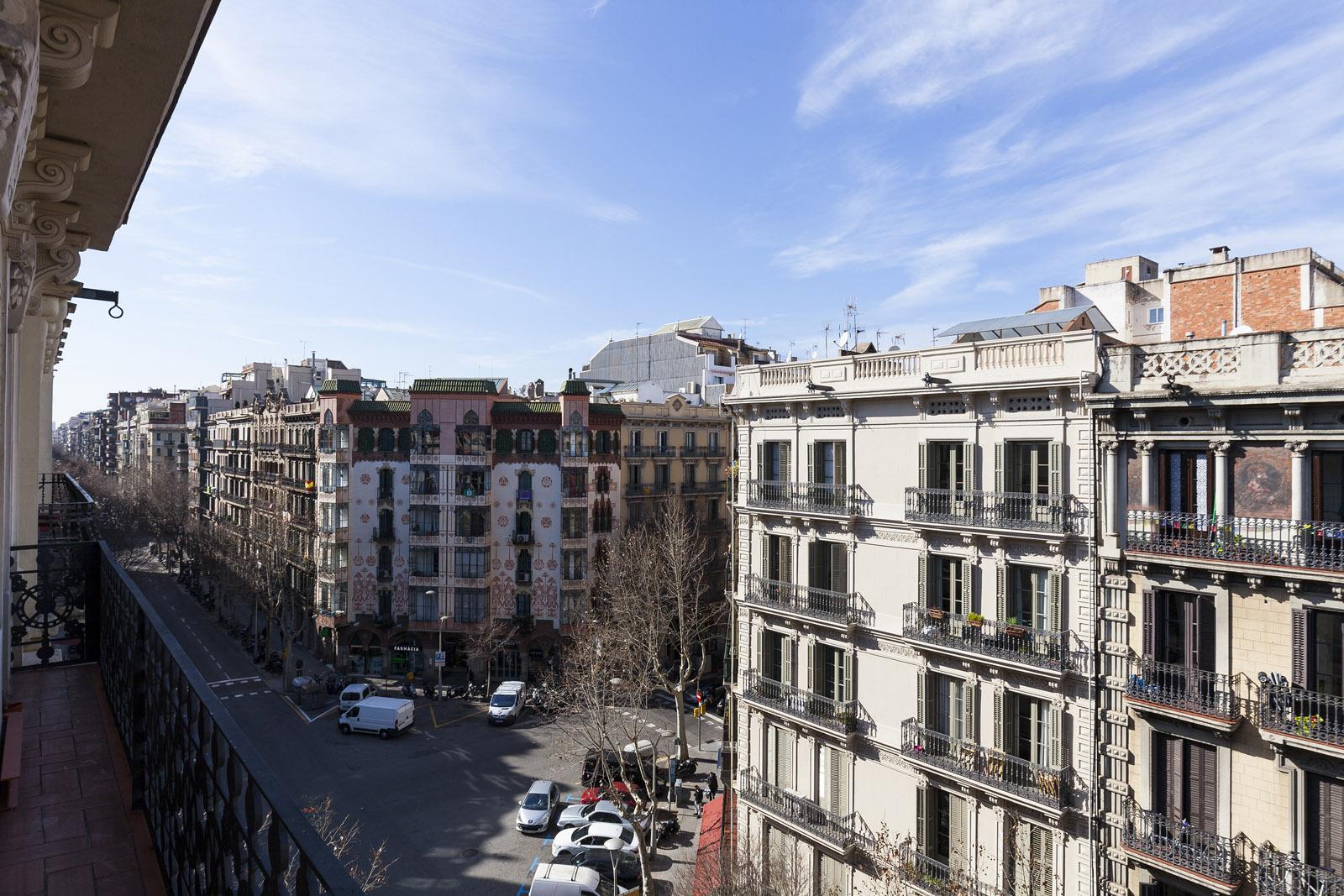 View from the balcony - Fuster Apartments - Stylish Balcony