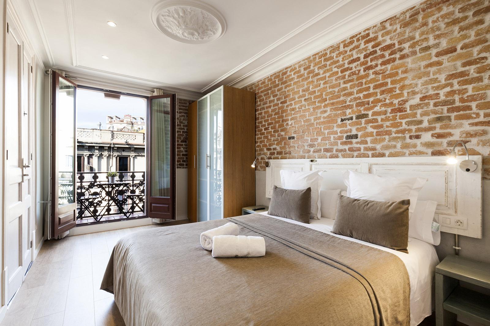 Bedroom - Fuster Apartments