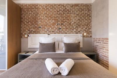Bedroom - Fuster Apartments - Stylish Balcony
