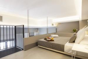 Bedroom Accommodation Kare-No Loft Balcony