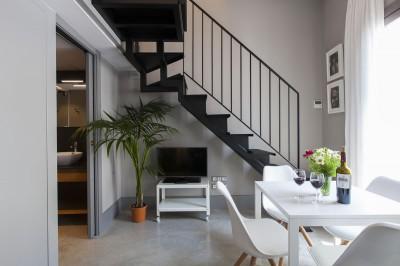 Living room Accommodation Kare-No Loft Balcony