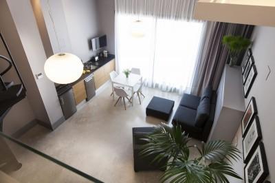 Salón Apartamento Kare-No Loft Plus