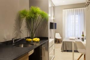Kitchen Apartaments Kare-No Studio Economy