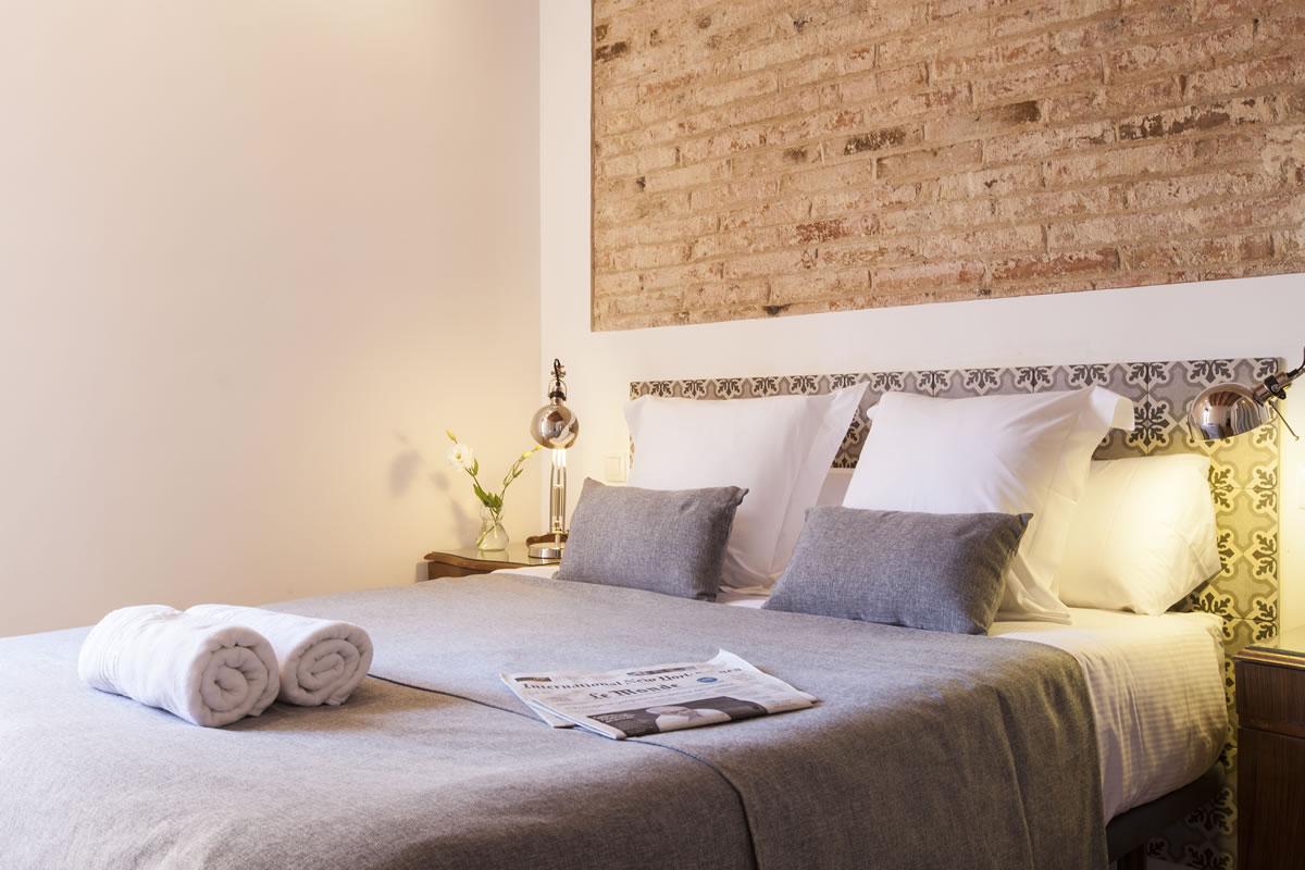 Dormitorio Apartamento Charming Flats