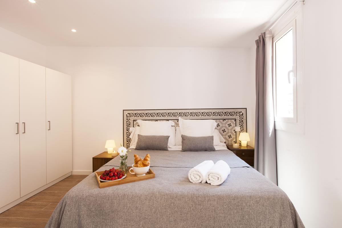Dormitorio Alojamiento Charming Flats