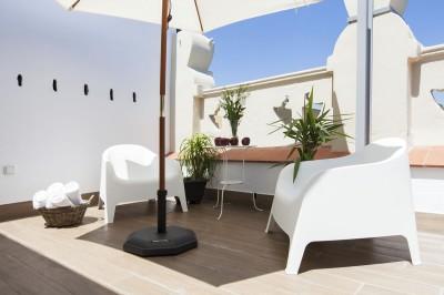 Terraza Habitación Charming Flats Trendy Terrace