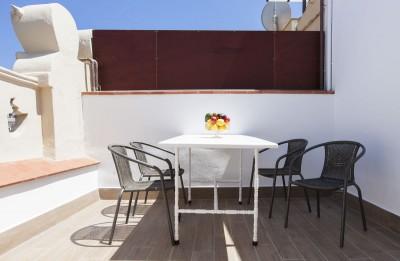 Terraza Alojamientos Charming Flats Trendy Terrace