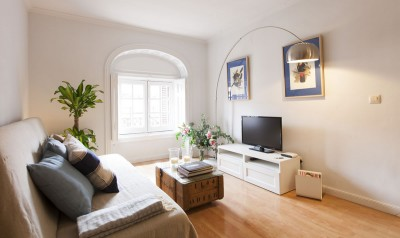 Living room Accommodation Calle Mayor Apartments Trendy