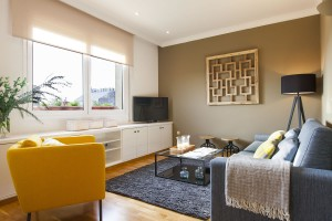 Living room Accommodation Rambla Catalunya Suites Stylish