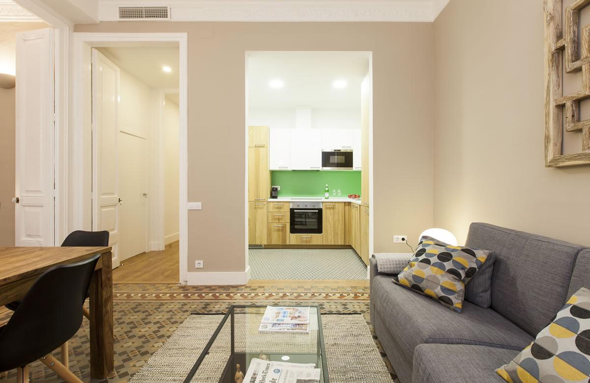 aspasios urquinaona design elegant apartments barcelona
