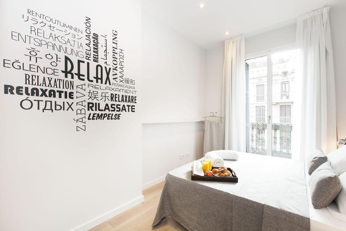 Bedroom Apartaments Vale Apartments Barcelona