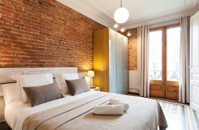 Bedroom - Fuster Apartments - Stylish Balcony