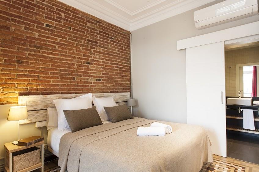 Bedroom - Fuster Apartments - Stylish