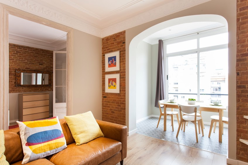 Living Room - Fuster Apartments