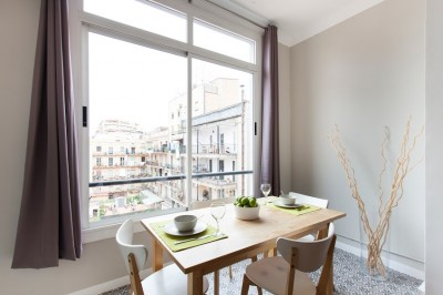 Dining Room - Fuster Apartments - Stylish
