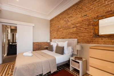 Bedroom - Fuster Apartments - Stylish