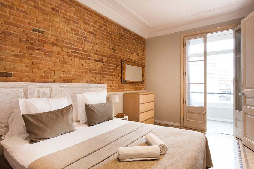 Bedroom - Fuster Apartments
