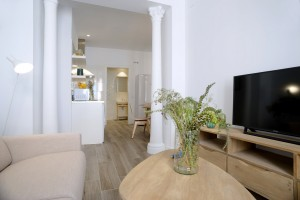 Living room - Gran Via Apartments