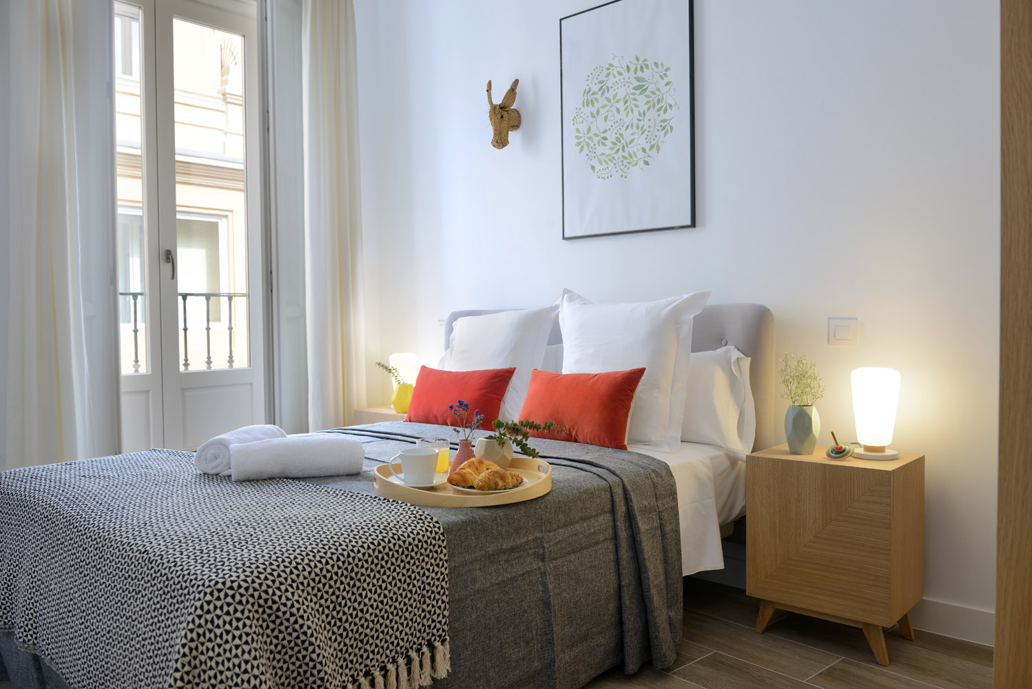Bedroom - Gran Via Apartments