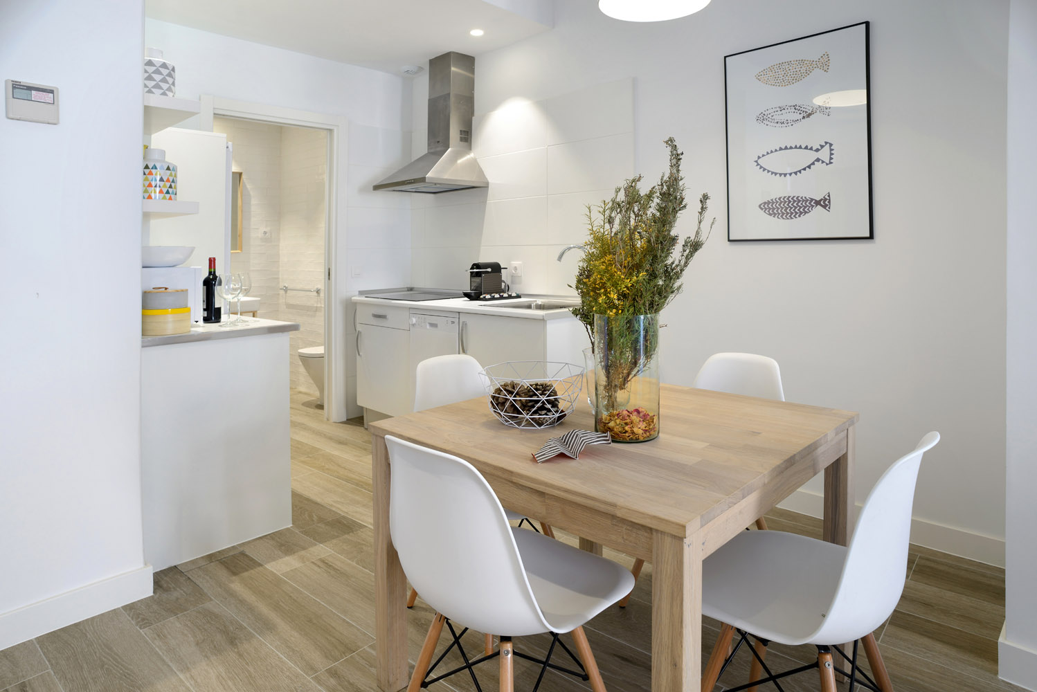 Open kitchen - Gran Via Apartments