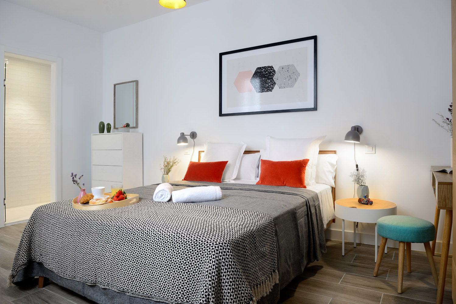 Bedroom 1 - Gran Via Apartments