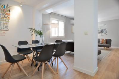 Salón Habitaciones Calle Mayor Apartments Elegant