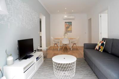 Living room Apartaments Calle Mayor Apartments Trendy Plus Balcony