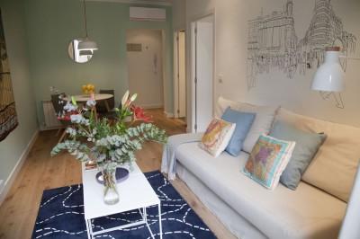 Salón Calle Mayor apartamentos Apartments Trendy Plus Balcony