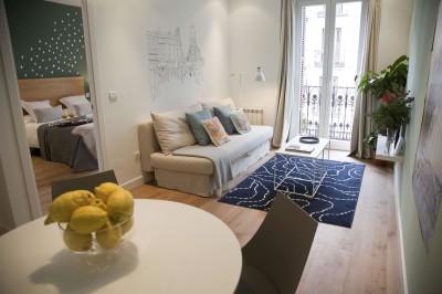 Salón Alojamiento Calle Mayor Apartments Trendy Plus Balcony