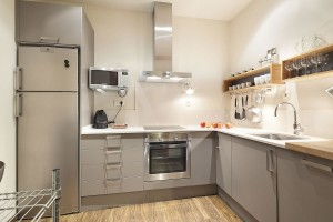 Kitchen To stay in Urquinaona Elegant