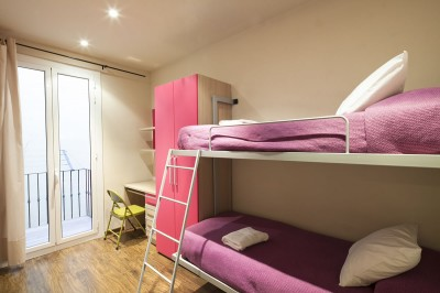 Bedroom Accommodation Urquinaona Elegant