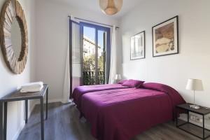 Bedroom Apartaments Rambla Catalunya Suites Chic