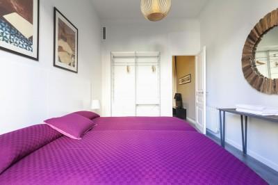 Dormitorio Apartamento Rambla Catalunya Suite Chic