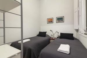 Bedroom Rambla Catalunya Suites Chic