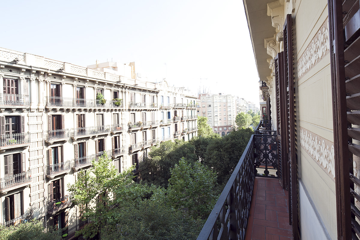 View from the balcony - Fuster Apartments - Stylish Balcony