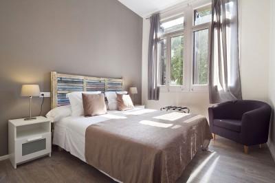 Dormitorio Apartamento Rambla Catalunya Suites Stylish
