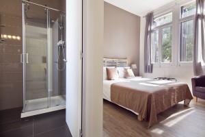 Dormitorio Apartamentos Rambla Catalunya Suites Stylish
