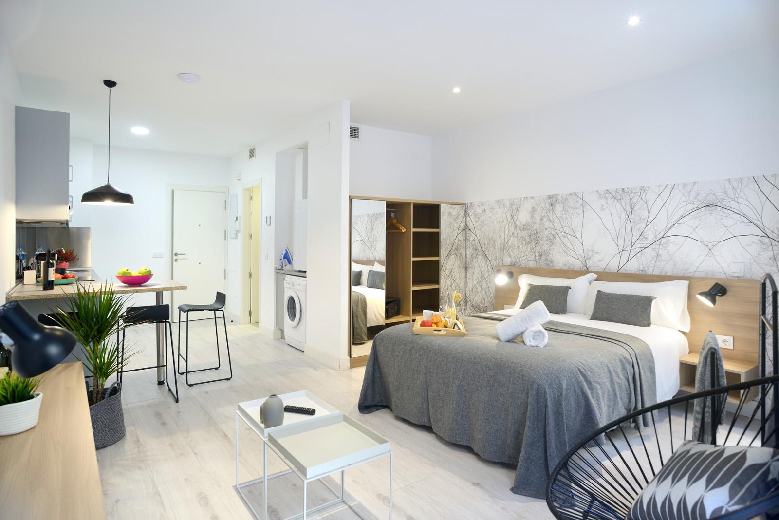 Aspasios atocha apartments apartamentos tur sticos en madrid - Apartamento turistico madrid ...
