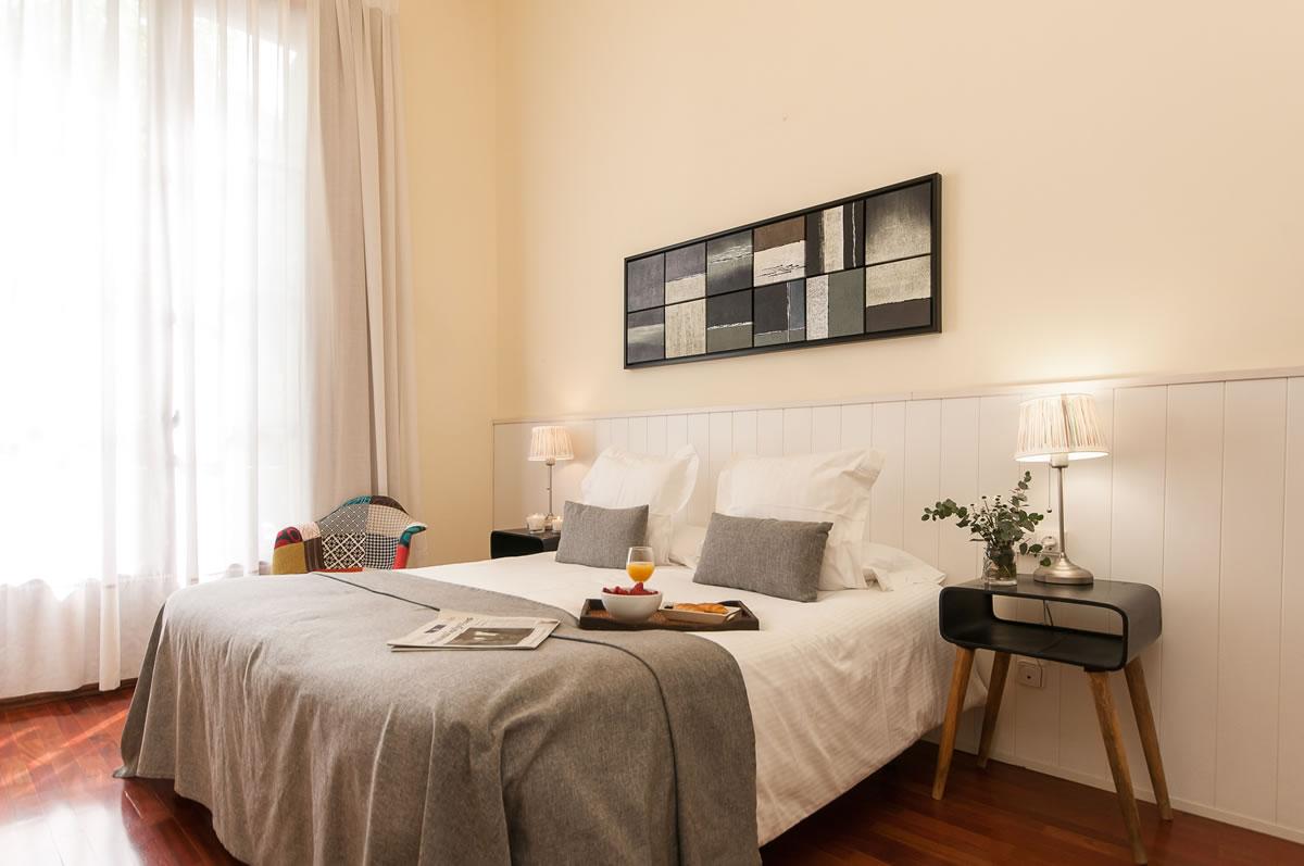 Dormitorio Apartamento Rambla Catalunya Suites Trendy