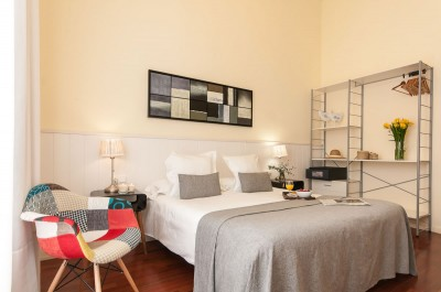 Bedroom Accommodation Rambla Catalunya Suites Trendy
