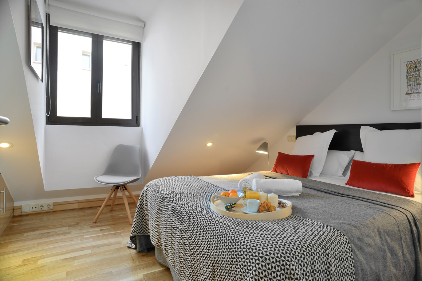 Bedroomm Design - Malasaña Boutique Apartments