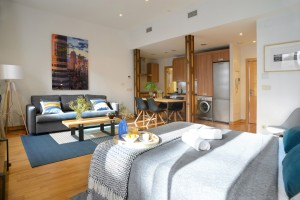 Studio living room - Malasaña Boutique Apartments