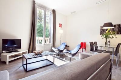 салон - Rambla Catalunya Suites-Stylish