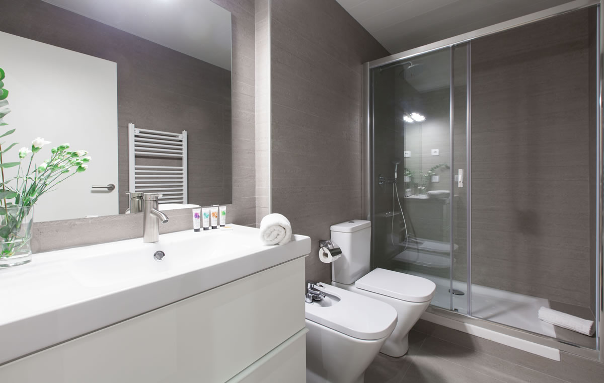 Bathroom To stay in Vale Apartments Barcelona