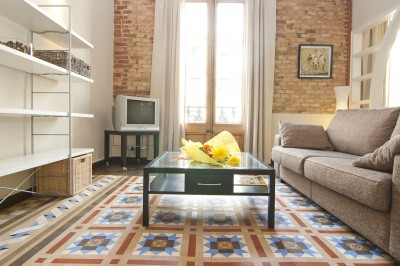 Living Room - Fuster Apartments - Design