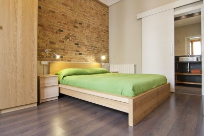 Bedroom - Fuster Apartments - Design