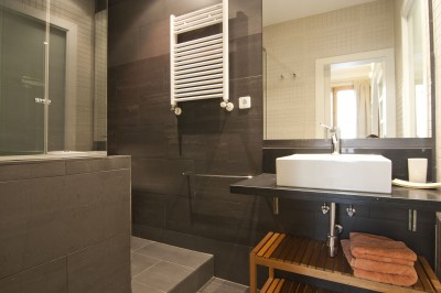 Bathroom - Fuster Apartments - Design