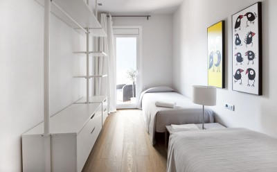 Dormitorio Alojamiento Rambla Catalunya Suites Luxury