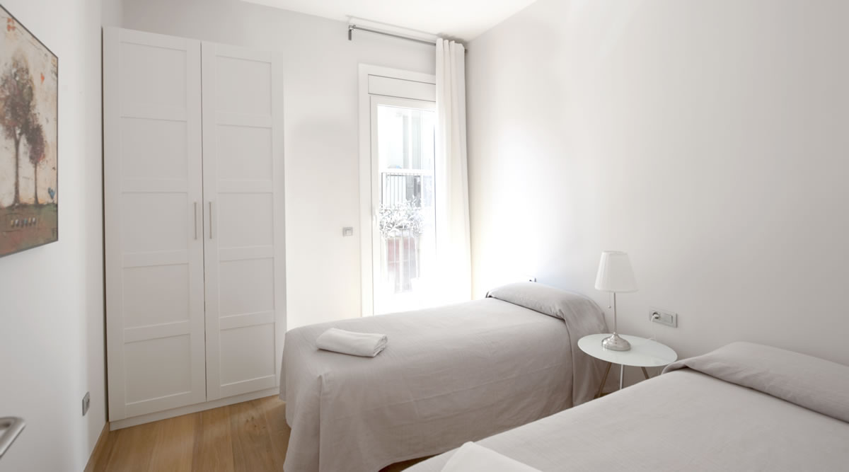Bedroom To stay in Rambla Catalunya Suites Luxury
