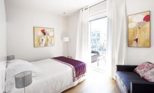 Спальня Rambla Catalunya Suites-Luxury
